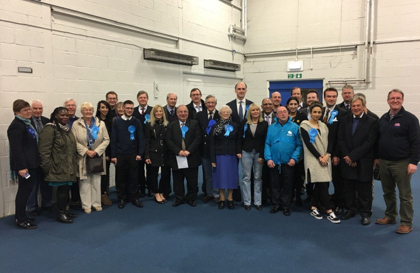 Rushmoor County elections team